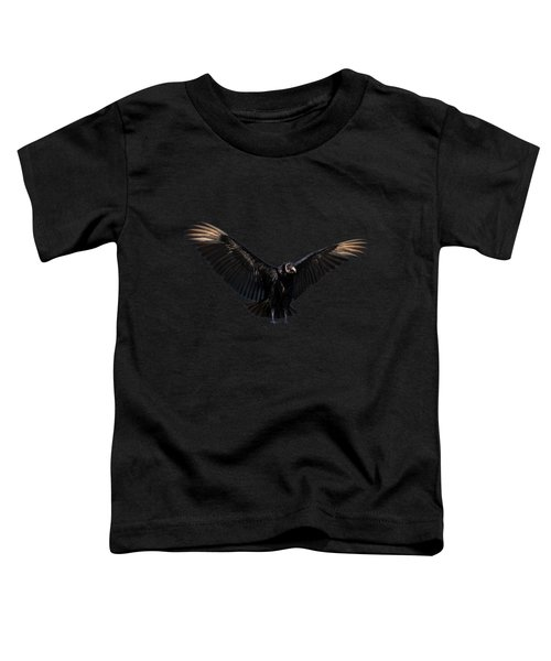 American Black Vulture Toddler T-Shirt by Zina Stromberg