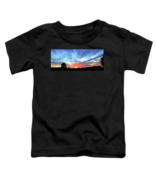 City On A Hill - Americus, Ga Sunset Toddler T-Shirt