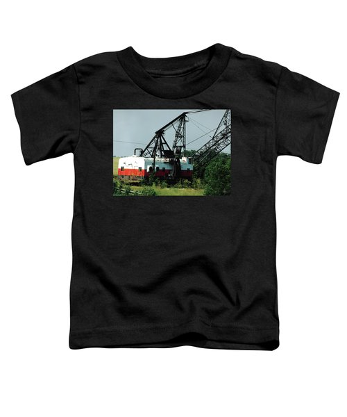 Abandoned Dragline Excavator In Amish Country Toddler T-Shirt