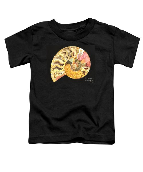 Ammonite Fossil Toddler T-Shirt