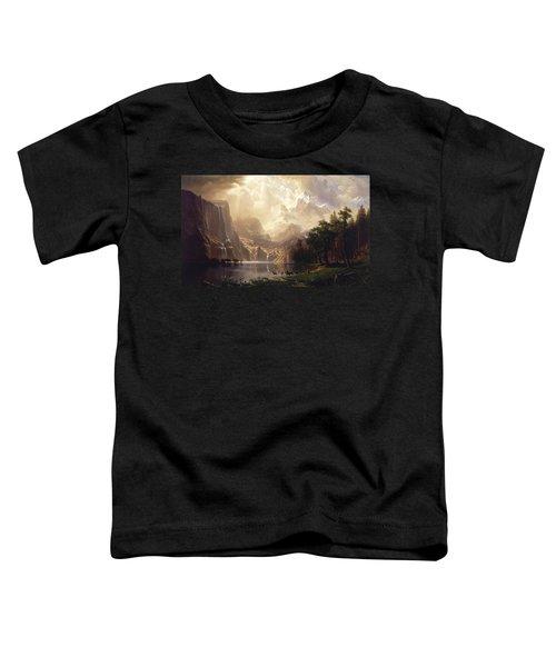 Among The Sierra Nevada Toddler T-Shirt