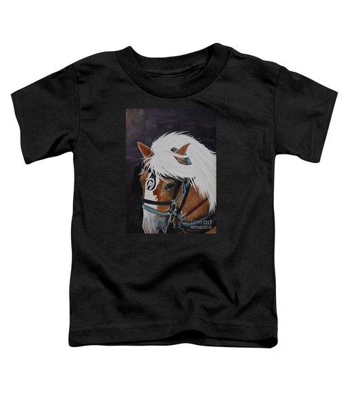 Amos - Haflinger - Horse Toddler T-Shirt