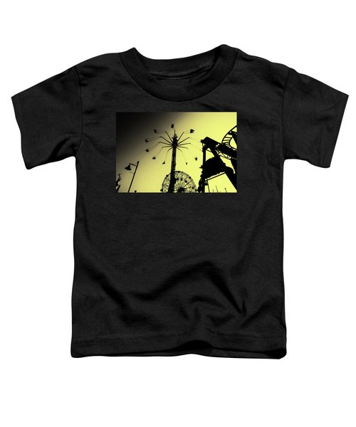 Amusements In Silhouette Toddler T-Shirt