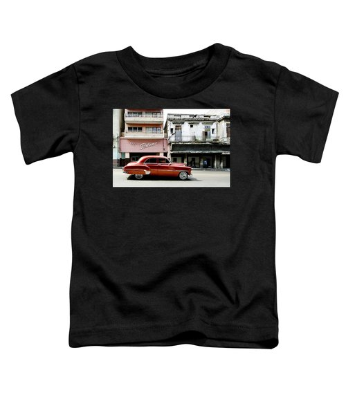 Toddler T-Shirt featuring the photograph An American In Havana by Denis Rouleau