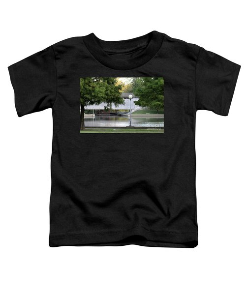 An Old Covered Bridge - Columbus Indiana Toddler T-Shirt