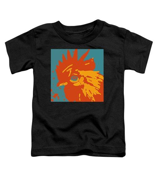 Analog Rooster Rocks Toddler T-Shirt