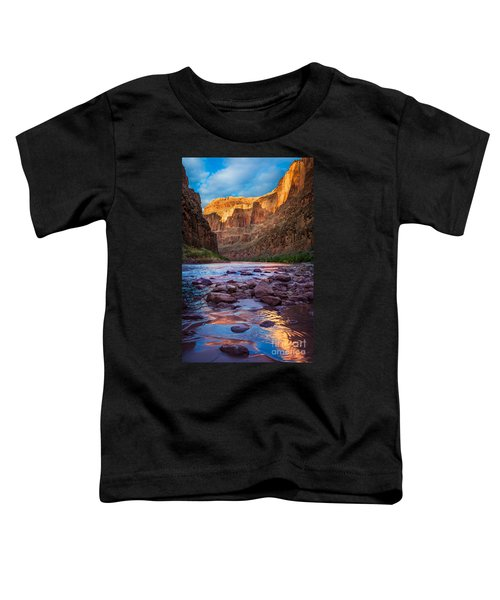 Ancient Shore Toddler T-Shirt by Inge Johnsson
