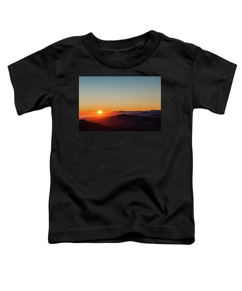 Andalucian Sunset Toddler T-Shirt