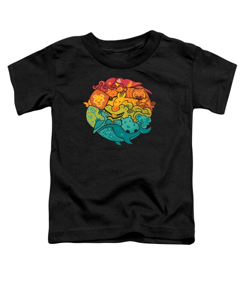 Animals Of The World Toddler T-Shirt by Craig Carr
