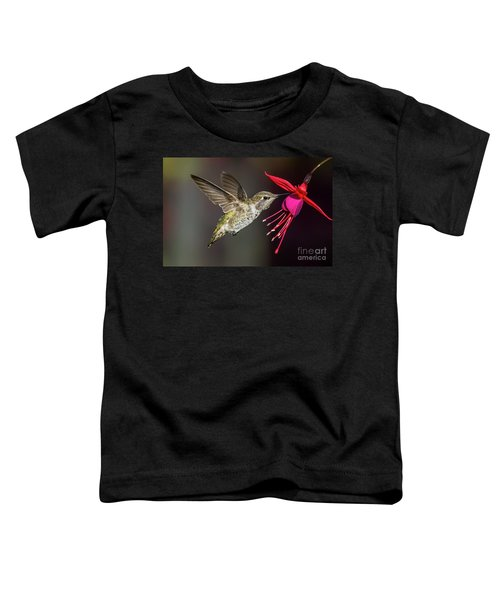 Anna Immature Hummingbird Toddler T-Shirt