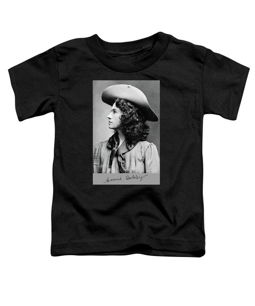 Annie Oakley Profile Toddler T-Shirt