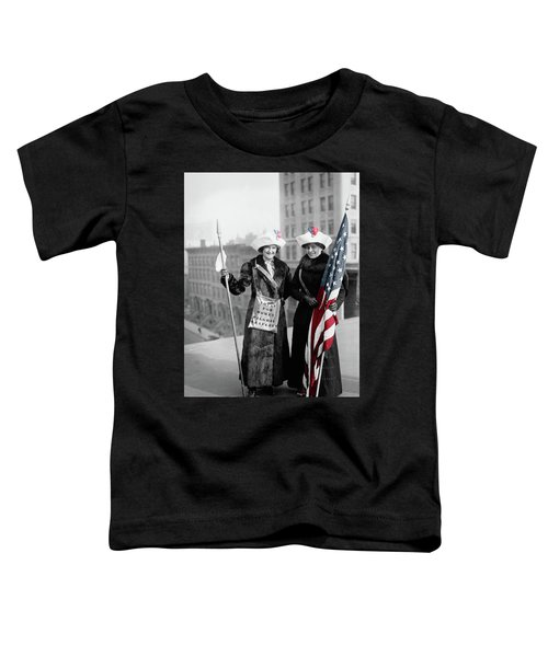 Antique Photo Of Two Women Toddler T-Shirt