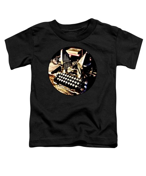 Antique Typewriter Oliver #9 Toddler T-Shirt