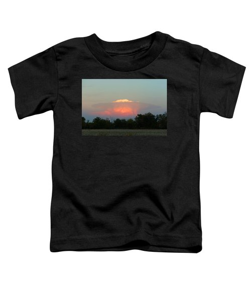 Anvil Cloud Over Kirksville, Mo Toddler T-Shirt