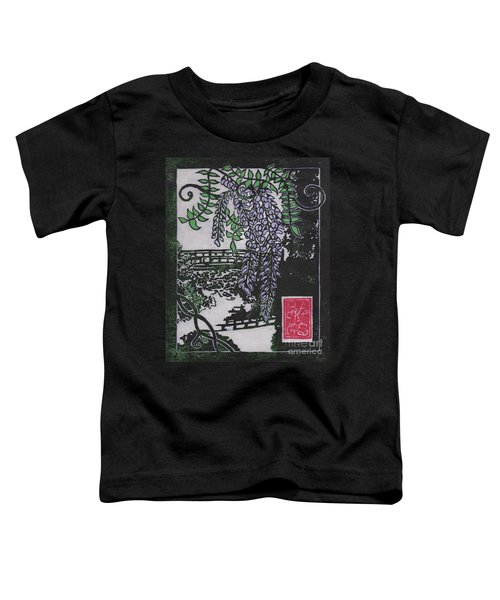April Fuji At The Portland Japanese Gardens Toddler T-Shirt