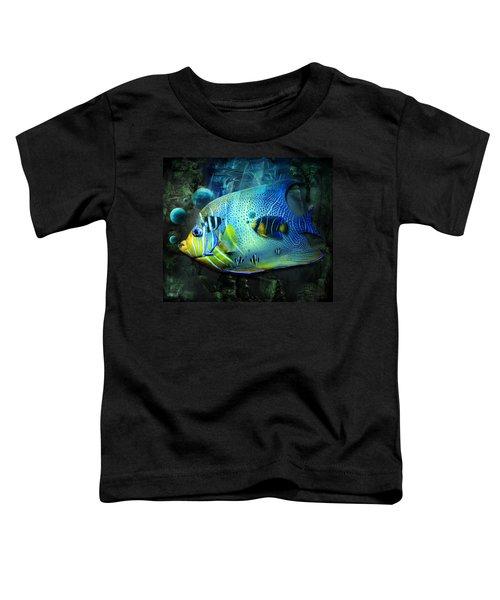 Aqua Fantasy Art World Toddler T-Shirt