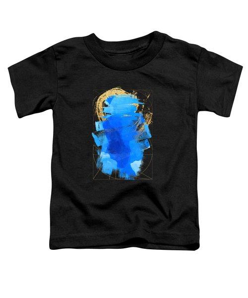 Aqua Gold No. 3 Toddler T-Shirt by Serge Averbukh