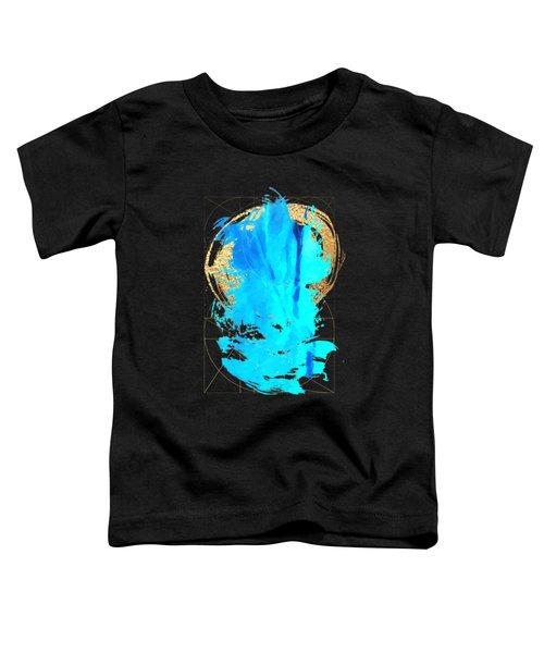 Aqua Gold No. 4 Toddler T-Shirt by Serge Averbukh