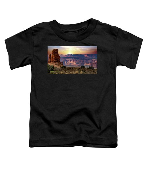 Arches National Park Canyon Toddler T-Shirt