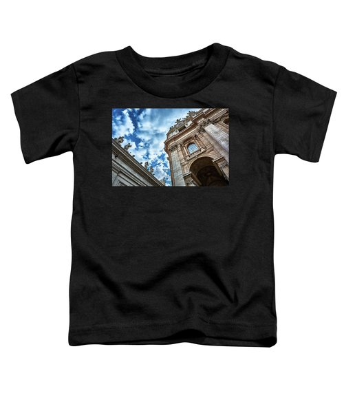 Architectural Majesty On Top Of The Sky Toddler T-Shirt