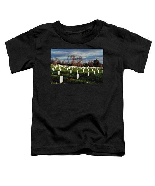 Arlington National Cemetery Landscape II Toddler T-Shirt