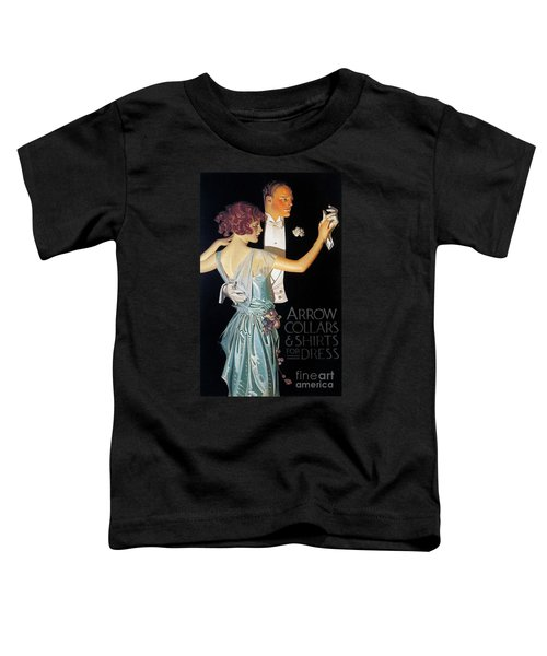 Arrow Shirt Collar Ad, 1923 Toddler T-Shirt