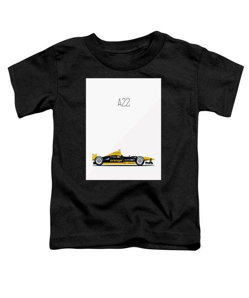 Arrows Asiatech A22 F1 Poster Toddler T-Shirt