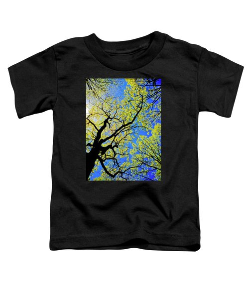 Artsy Tree Canopy Series, Early Spring - # 02 Toddler T-Shirt