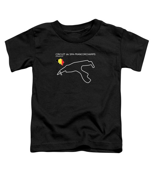 Spa Francorchamps Toddler T-Shirt by Mark Rogan