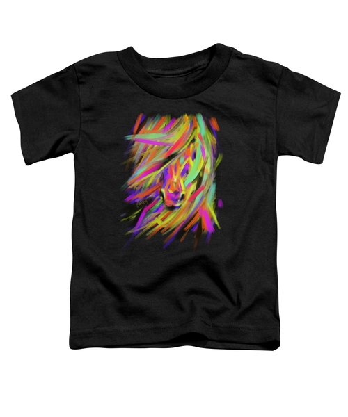Horse Rainbow Hair Toddler T-Shirt