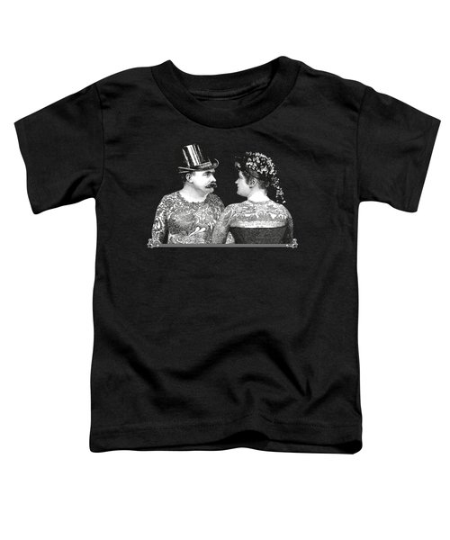 Tattooed Victorian Lovers Toddler T-Shirt