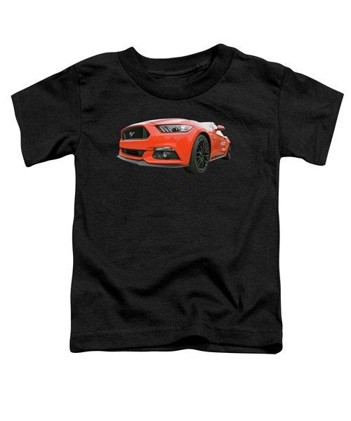 Orange Storm - Mustang Gt Toddler T-Shirt