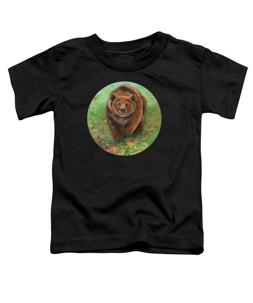 Grizzly In The Meadow Toddler T-Shirt