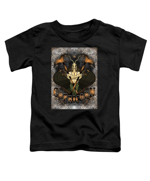 The Goat Capricorn Spirit Toddler T-Shirt