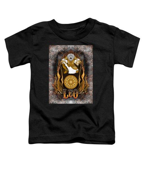 The Lion Leo Spirit Toddler T-Shirt
