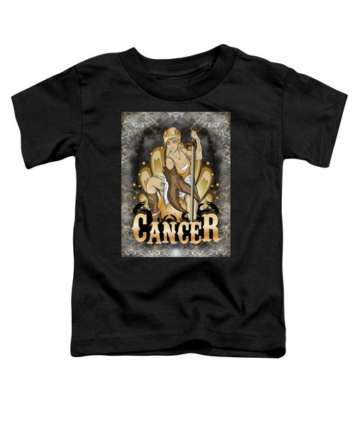 The Crab Cancer Spirit Toddler T-Shirt
