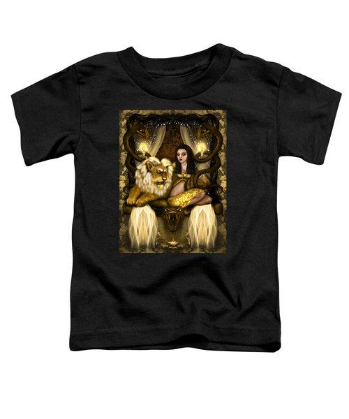 The Serpent Gateway Fantasy Art Toddler T-Shirt