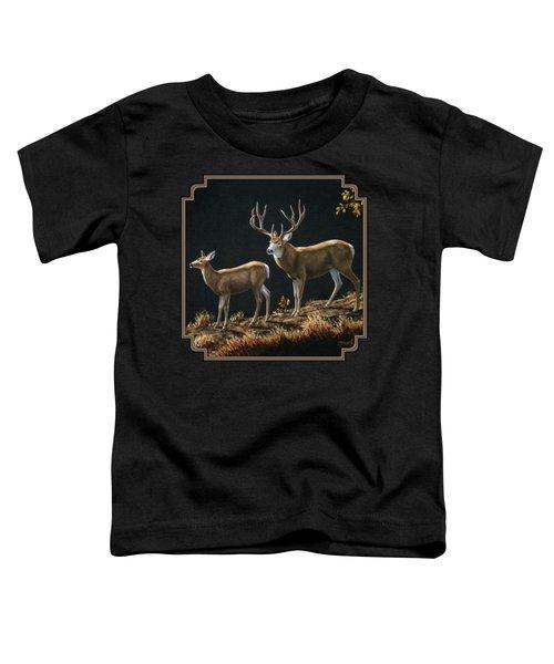 Mule Deer Ridge Toddler T-Shirt