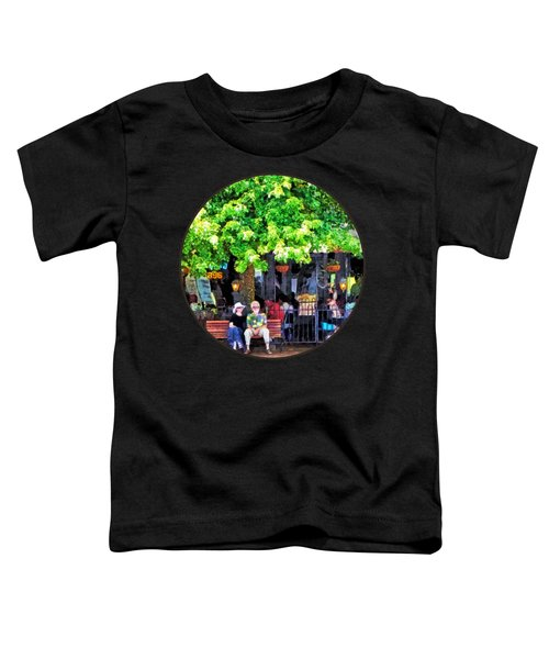 Asheville Nc Outdoor Cafe Toddler T-Shirt