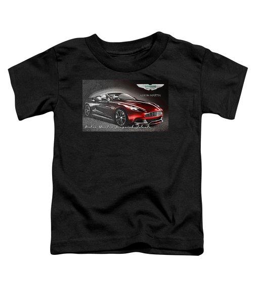 Aston Martin Vanquish Volante  Toddler T-Shirt