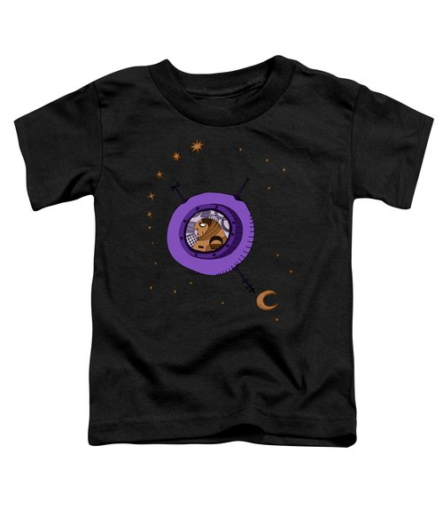 Astronaut In Deep Space Toddler T-Shirt