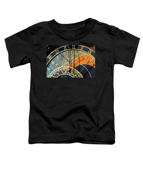 Astronomical Clock Prague Toddler T-Shirt