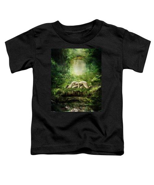 At Sleep Toddler T-Shirt