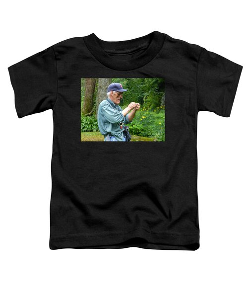 Attaching The Lure Up Close Toddler T-Shirt