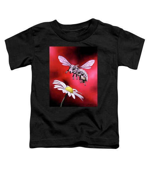 Attack Of The Silver Bee Toddler T-Shirt
