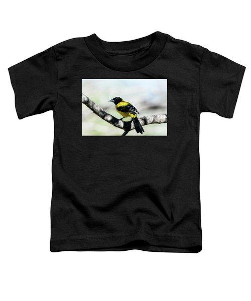 Audubon's Oriole Back Wings Toddler T-Shirt