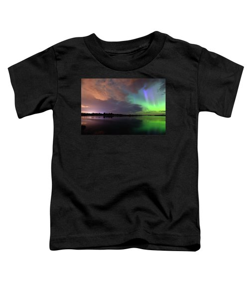 Aurora And Storm Clouds Toddler T-Shirt