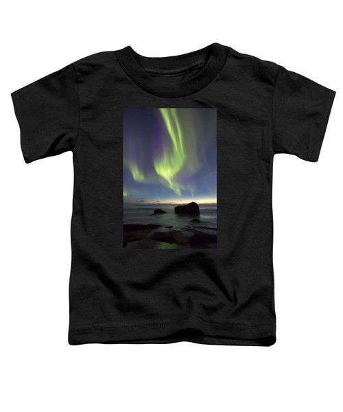 Aurora At Uttakleiv Toddler T-Shirt