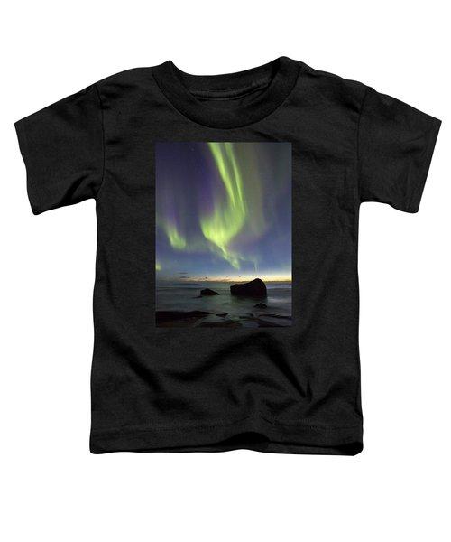 Aurora At Uttakleiv Toddler T-Shirt