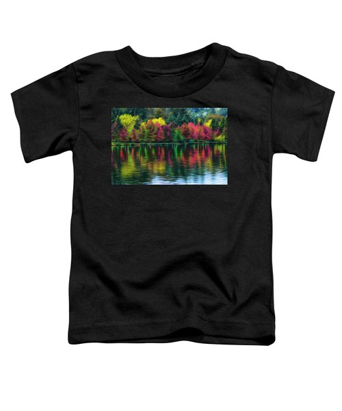 Autumn At Green Lake Seattle Toddler T-Shirt